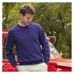 Sweatshirt - Classic Raglan - Fruit of the Loom
