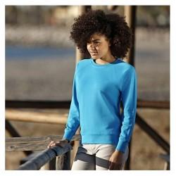 Sweatshirt - Lightweight Raglan Fit - Fruit of the Loom/Woman