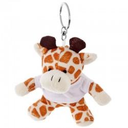 Giraffe with White Shirt - Keyring