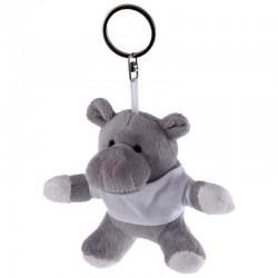 Hippo with White Shirt - Keyring