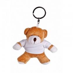 Bear with White Shirt - Keyring
