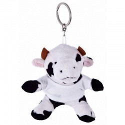 Caw with White Shirt - Keyring