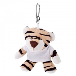Tiger with White Shirt - Keyring