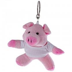 Piggy with White Shirt - Keyring