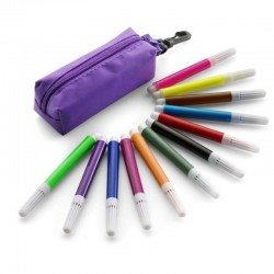 Pencil Case + Markers