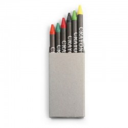 Crayons - Set of 6 in Eco Box