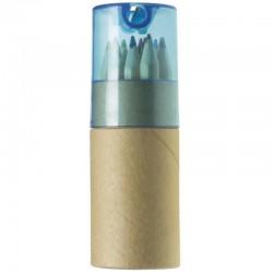 Colour Pencils - Set of 12 + Sharpener