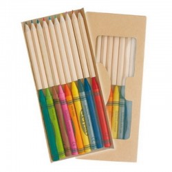 Colour Pencils + Crayons