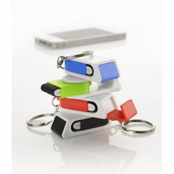 Phone Stand with a Cleaner - Keyring