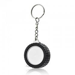 Tire-shaped measure tape - Keyring
