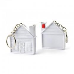 House-shaped Measure Tape - Keyring