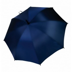 Umbrella - OXFORD - With Wooden Handle - NAVY BLUE