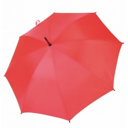 Umbrella - OXFORD - With Wooden Handle - RED