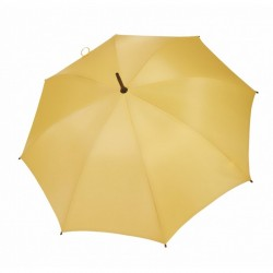 Umbrella - OXFORD - With Wooden Handle YELLOW