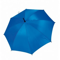 Umbrella - OXFORD - With Wooden Handle - BLUE