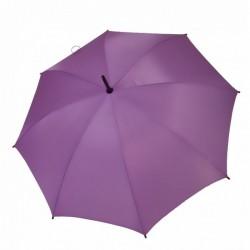 Umbrella - OXFORD - With Wooden Handle - PURPLE