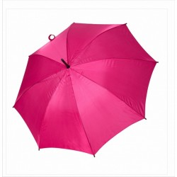 Umbrella - OXFORD - With Wooden Handle PINK