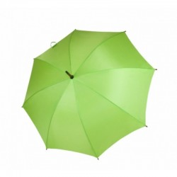 Umbrella - OXFORD - With Wooden Handle LIME
