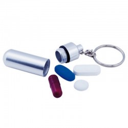 Tablet Container - Keyring