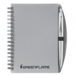 Notebook - A6 Transparent colours + Pen