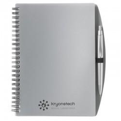 Notebook - A5 Transparent colours + Pen