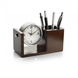 Clock + Pen Holder