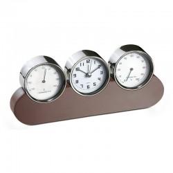 Clock + Hygrometer + Thermometer
