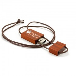 Wooden Lace USB